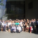 The Participants in front of the Viennese Faculty of Law